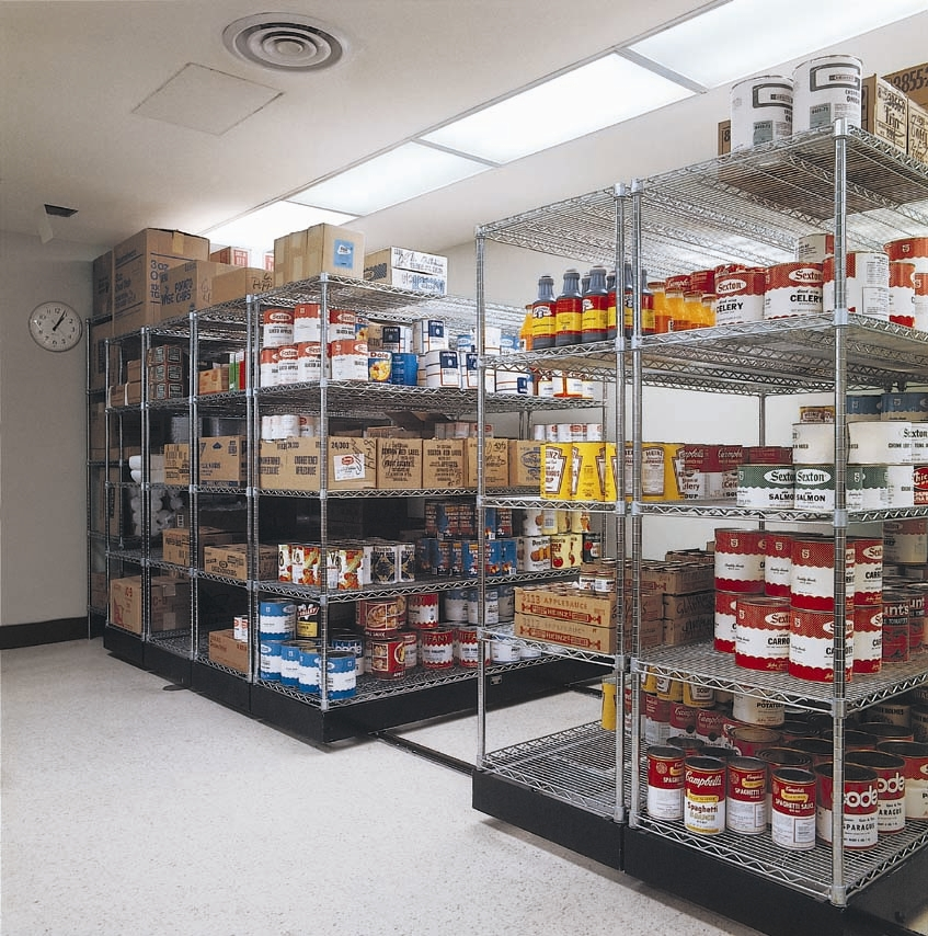 food storage systems Not everyone has the space to store years' worth of food and survival supplies next to the lack of money, adequate space with the correct temperature for food storage is the greatest challenge many of us face when we decide to begin our food storage.